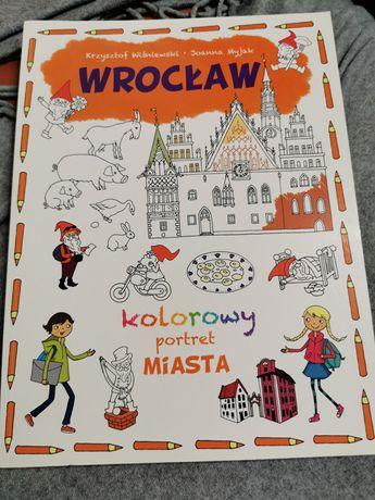 Kolorowy portret miasta Wrocław Joanna Myjak