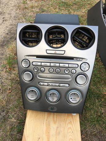 Radio mazda 6 (schowek, komputer, podlokietnik)