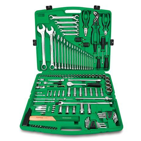 Набор инструмента комбинированный 1/4&1/2. ключи 6-32мм. 130ед. TOPTUL