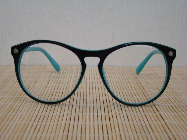 Имиджевые двухцветные очки