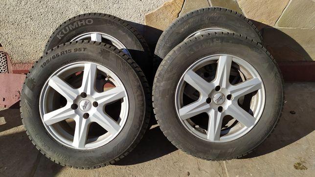 Диски,колеса на зимовій резині шиповані R15