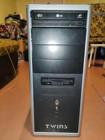 Компьютер: системн блок,4 ядра 2.4-3.15 ГГц, 4Gb RAM, 1Gb Vid+bio XEON