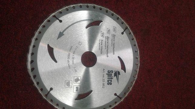 Диск пільний Spitce 210x30 T48