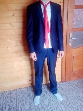 Костюм стильний класичний Штани пиджак галстук 44-46 Daniel Perry