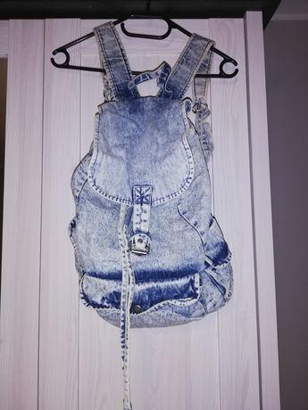 Plecak jeansowy Primark