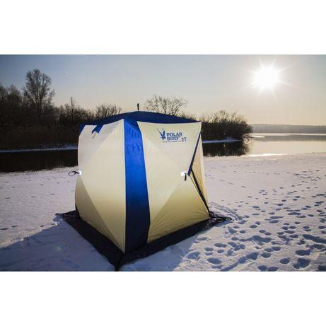 ЗИМНЯЯ ПАЛАТКА POLAR BIRD 2T палатка для зимней рыбалки Снегирь 2т