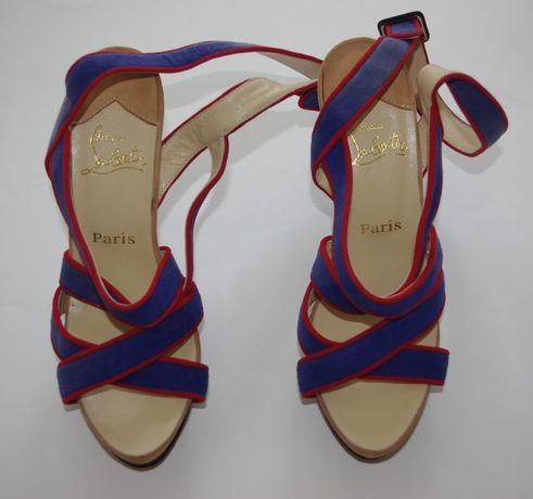 CHRISTIAN LOUBOUTIN buty szpilki rozm 37