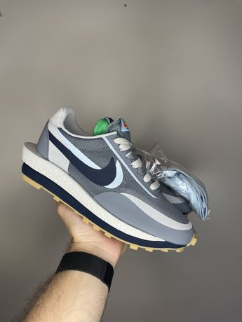 Nike LDWaffle x sacai x clot