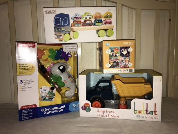 Новые игрушки в упаковках к праздникам