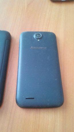 телефон Lenovo a830 + силиконовый чехол, черный