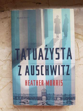 """Książka """"Tatuażysta z Auschwitz"""" H. Morris"""
