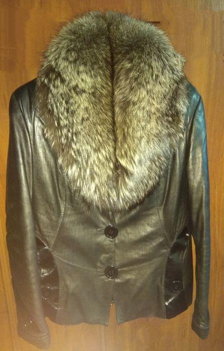Зимняя кожаная куртка Чернигов - изображение 1