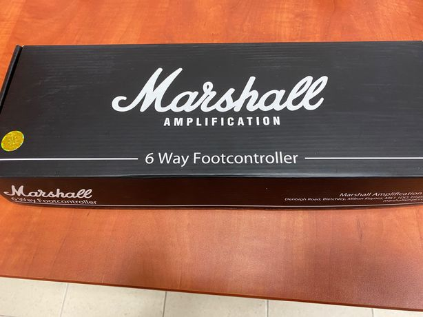 Marshall PEDL 91016 footswitch DSL40, JVM