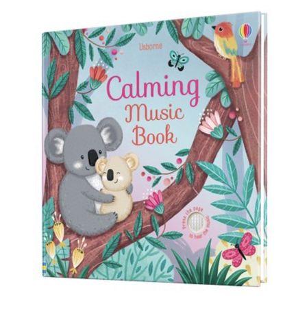 Usborne ,Calming music book, книга -игрушка  музыкальная