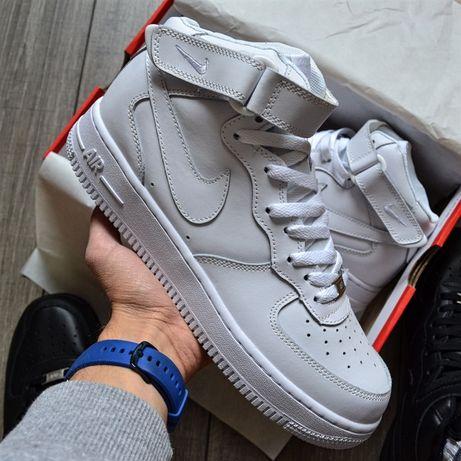 "Nike Air Force 1 Mid White"""