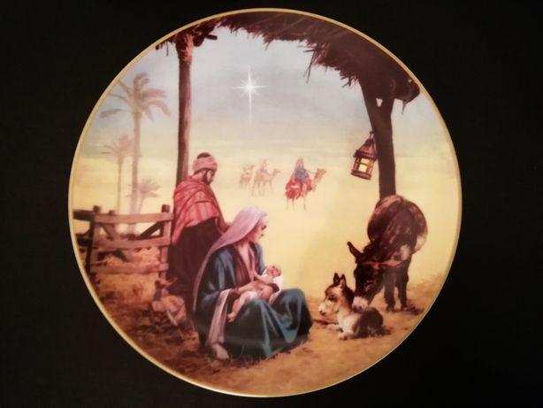 Prato de Natal Porcel 1996