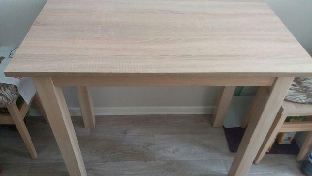 Stół i 3 taborety dab sonoma